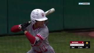 Sam Neidermann: Softball TV Play-by-Play - Indiana vs. Rutgers