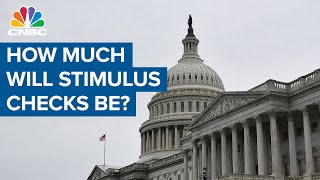 Stimulus checks: How much you'll get