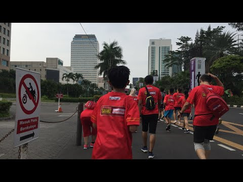 RCTI Reds Run 2018 With TEDDY SHERINGHAM (Legend Manchester United) Mp3