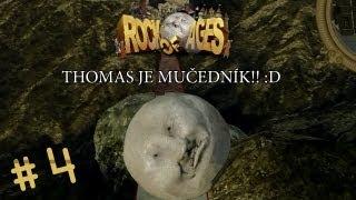 ► Rock of Ages |#4| - Thomas vymyslel nový způsob mučení | Český Gameplay - Full HD 1080p