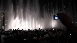 نافورة برج خليفة اليوم الوطني الـ40 Fountain Burj khalifah National Day