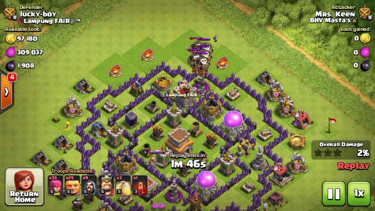Base Coc Th 8 Anti Maling 1