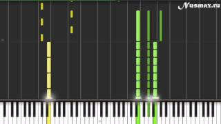 Mika - Relax Piano Tutorial  (Synthesia + Sheets + MIDI)