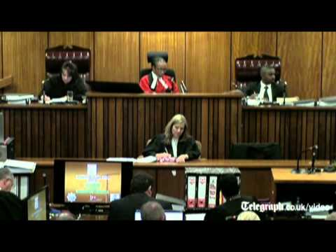 Oscar Pistorius trial: athlete describes moment he says he heard an intruder