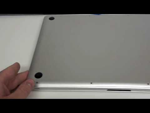 How to Remove the Bottom Case -  17 Inch Macbook Pro Unibody