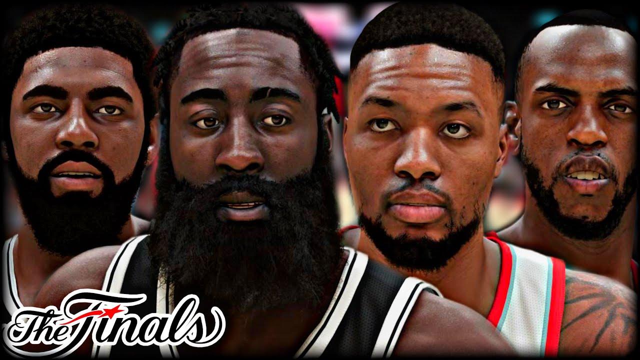 THE NBA FINALS...   Damian Lillard MyCareer & Blazers MyGM EP 17