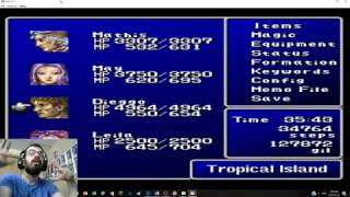 Let's Play Final Fantasy II PART 28 Tropical Island pt2