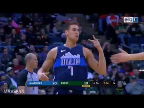 Dwight Powell 15pts 5/7 FGM 5rebs vs Bucks | Dec 08, 2017
