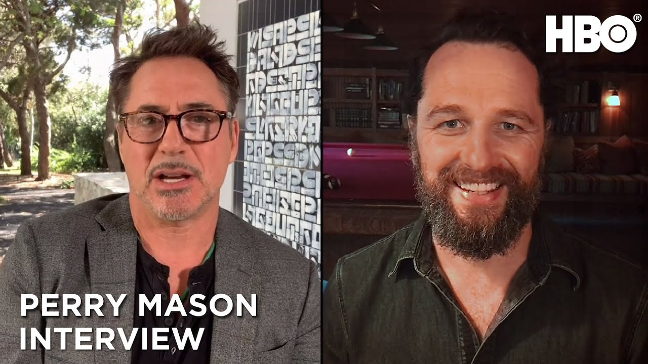 Perry Mason: Conversation with Robert Downey Jr. and Matthew Rhys (Interview) | HBO