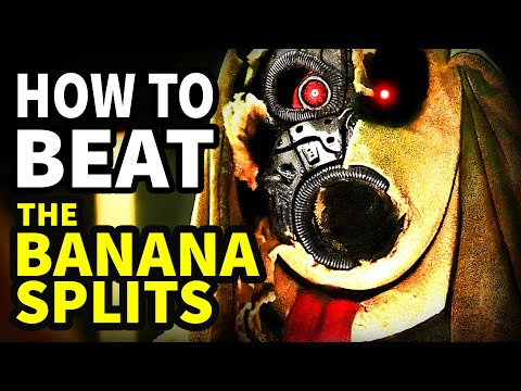 """How To Beat EVERY EVIL ANIMATRONIC In """"The Banana Splits"""""""