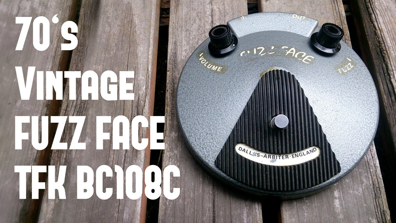 70s Dallas Arbiter Fuzz Face Sound Demo Vol1 Jimi Hendrixs Tone Central Vox Clyde Mccoy Wah By Fuzzfaceexp
