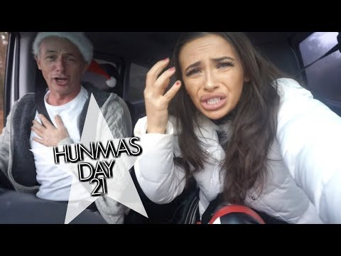 CARPOOL KARAOKE WITH DAD | HUNMAS & GIVEAWAY #21