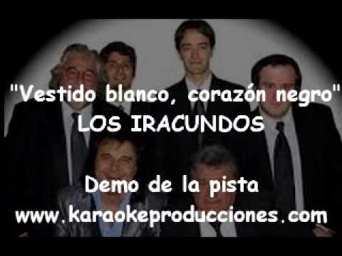 Karaoke vestido blanco corazon negro