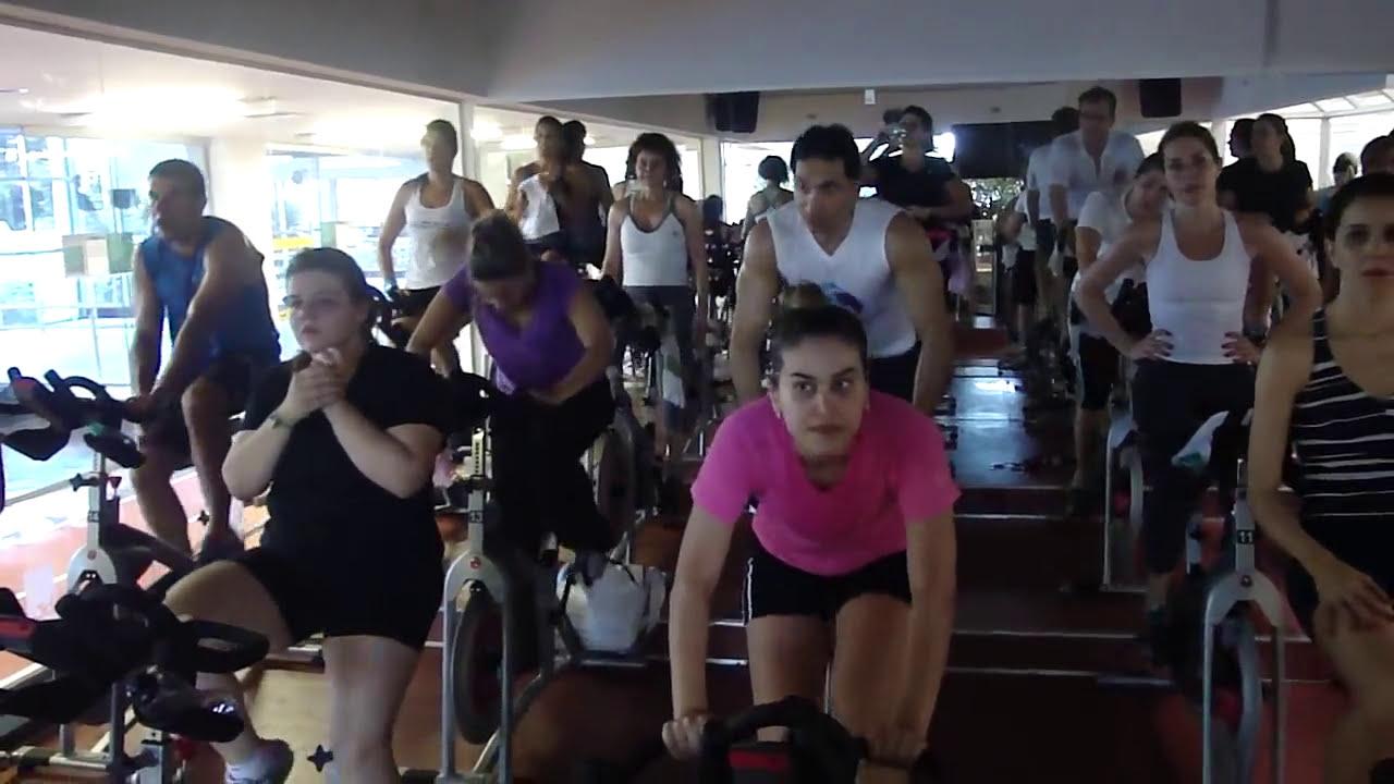 Aula de Cycling com prof Roberto Toscano e Simo Addad em