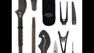 The Zubin Axe Multi-tool Staff