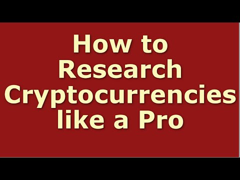 Where can i research cryptocurrencies