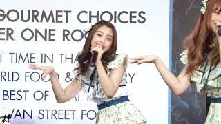 [Fancam] 181109 - Kimi wa Melody at Food Expo The Mall Bangkapi (BNK48 - Kaew Focus)