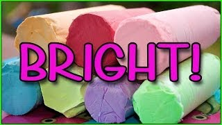 How to Make BRIGHT Sidewalk Chalk  | Summer Series
