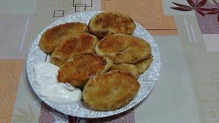 Картофельные зразы с грибной начинкой.