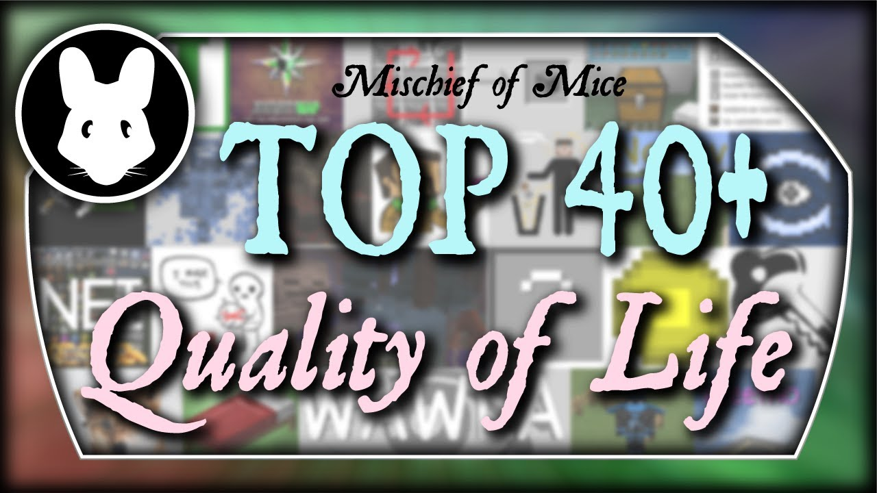 TOP 8+ Quality of Life mods for Minecraft! Bit by Bit by Mischief of Mice!
