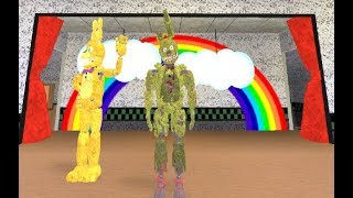 Springtrap!!! Fredbear and Friends Family Restaurant Roleplay Roblox
