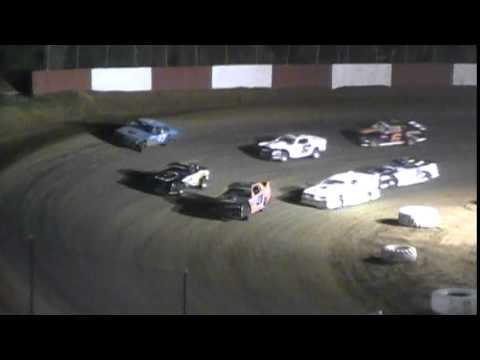 Crowley's Ridge Raceway 9/6/14 #21 Chris Sims Street Stock Heat Race