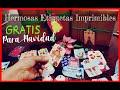 DIY etiquetas y tarjetas para Navidad GRATIS \ Diy Card Christmas Free