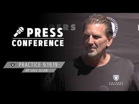 Greg Olson talks Darren Waller and the Vikings' pass rush | Raiders