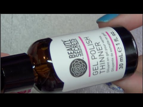 Beauty Secrets Gel Polish Thinner: Review & Demo - YouTube