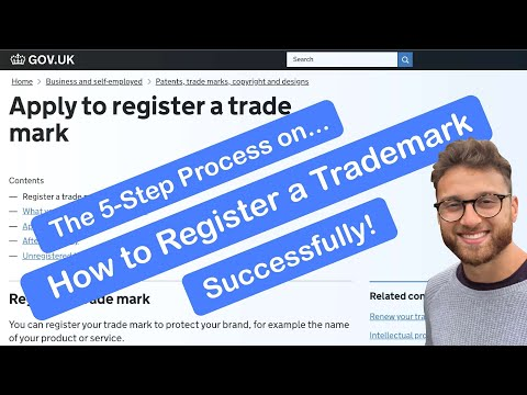 How to Register a Trademark (Brand) Successfully - Online - in the UK (Step by Step)