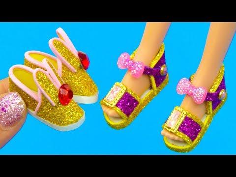 14 DIY Barbie Crafts and Hacks: Eyeshadow Palette, Handbag, Shoes! and more