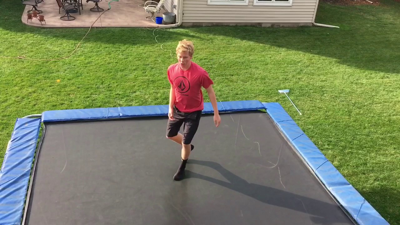 How to backflip on a trampoline (tutorial) youtube.