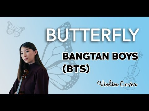 《Butterfly》- BTS (방탄소년단) Violin Cover (w/Sheet Music)