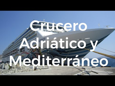 Gran crucero Mediterraneo NCL Spirit - Travel Video 55