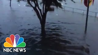 Hurricane Florence Storm Surge Floods New Bern, North Carolina | NBC News