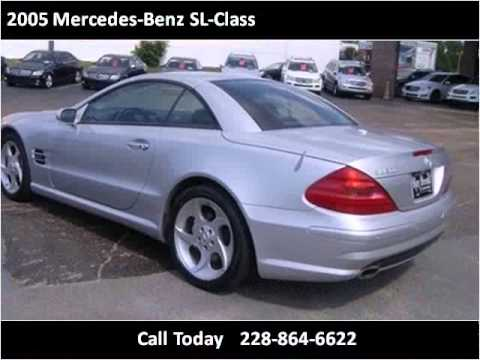 2005 Mercedes Benz SL Class Used Cars Gulfport MS