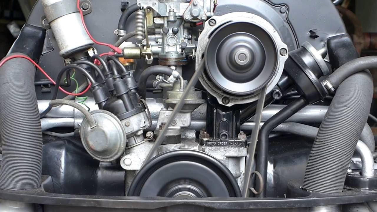 Volkswagen Beetle Engine  The First Start Up