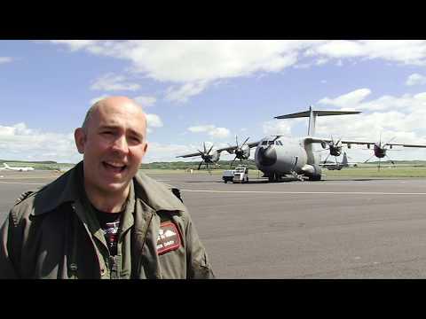 Glasgow Prestwick Accommodate New RAF A400M