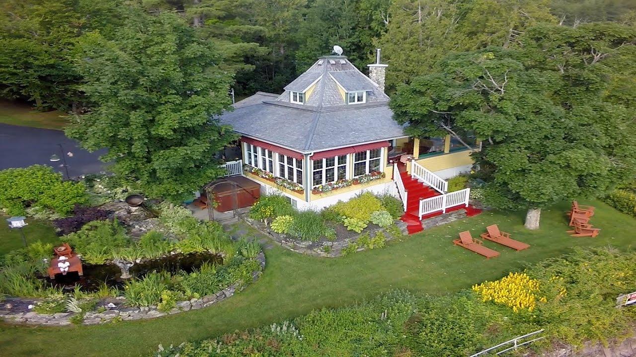 A vendre grand lac st francois proprietes etangs a for Acheter une maison au canada