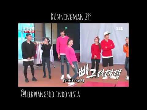 lee kwang soo couple dance compilation at runningman ep 299