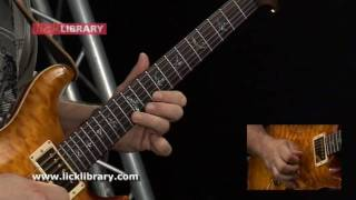 Gary Moore - Empty Rooms - Guitar Solo - Slow & Close Up With Stuart Bull Licklibrary