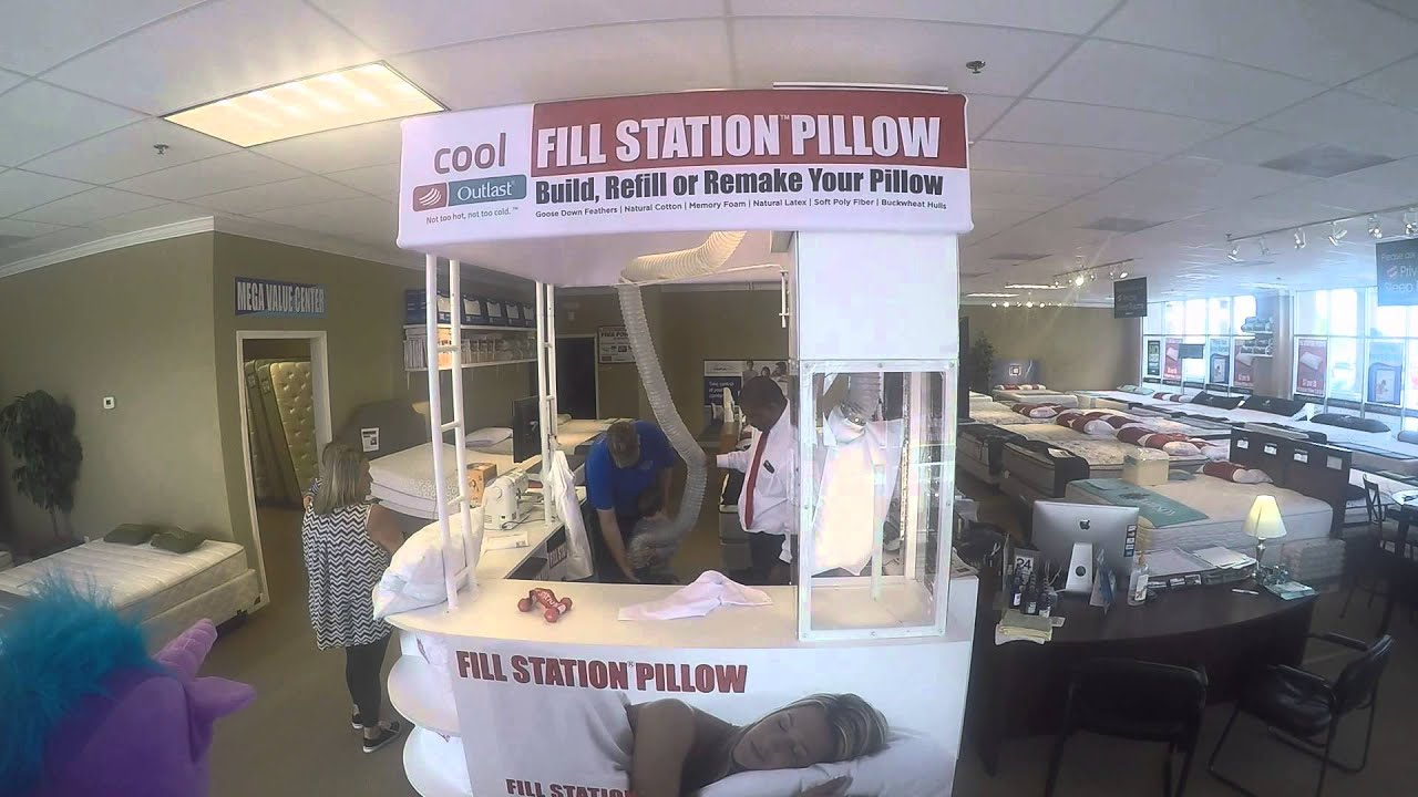 6dc09a24862 Kids having fun in the Fill Station Pillow Kiosk! Bear time! - YouTube