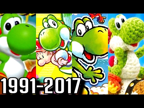 Yoshi ALL INTROS 1991-2017 (3DS, Wii U, DS, SNES)