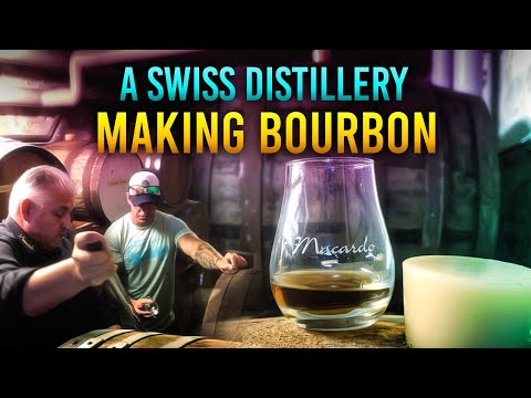 The SWISS Distillery Making AWARD WINNING BOURBON