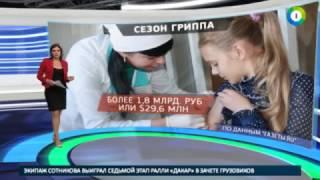 Грипп российский  сводки из регионов и меры профилактики   МИР24