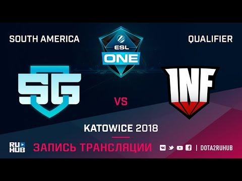 SG e-sports vs Infamous, ESL One Katowice SA, game 2 [Autodestruction, Mortalles]