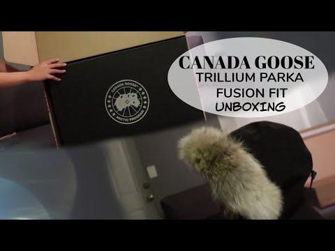 Canada Goose Trillium Parka Fusion Fit Unboxing + Try On | Kristine Manosa