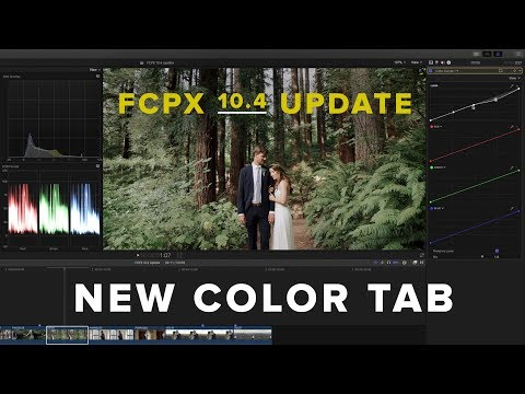 FCPX 10.4 - New Color Tab Update (FINALLY)