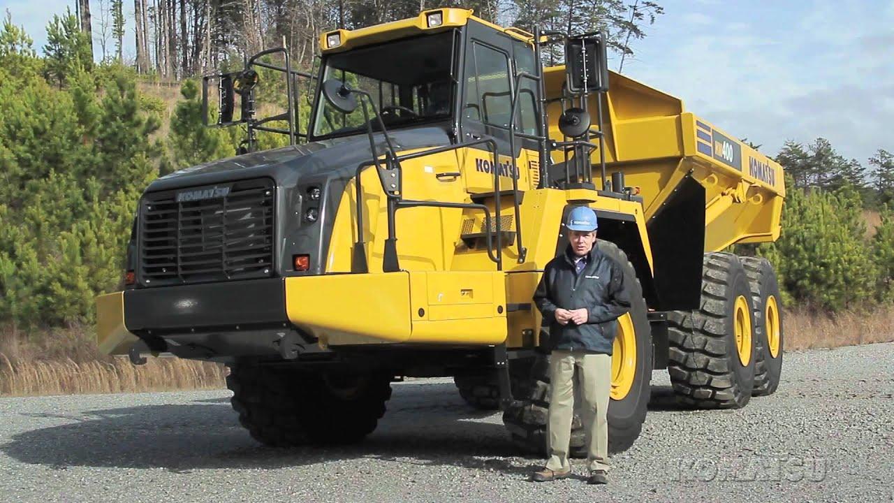Komatsu Hm400 3 Tier 4 Interim Articulated Dump Truck