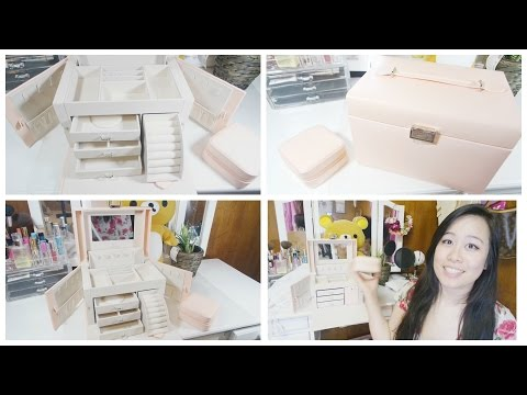 Vlando Large Jewelry Box Organizer Review + GIVEAWAY IN DESCRIPTION